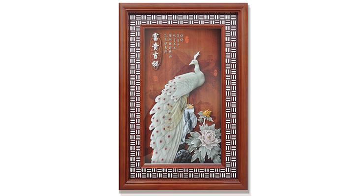 富贵吉祥(玻璃框)120X80cm-01