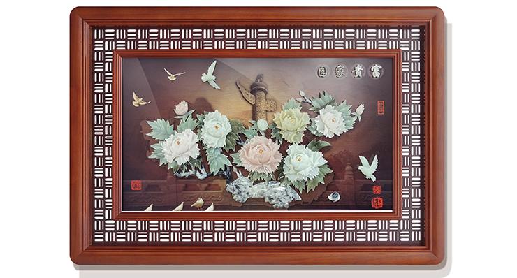 富贵家国(玻璃框)120X80cm-01
