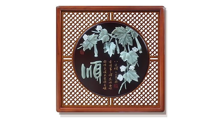 顺(花格框)60X60cm-01