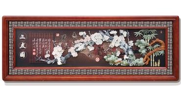三友图(玻璃框)220X80cm-01