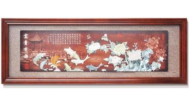 富贵有余(方角框)230X80cm-01