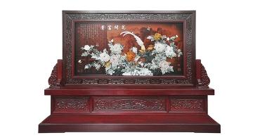 玉雕画-花开富贵(坐屏-正面)280X200cm-01